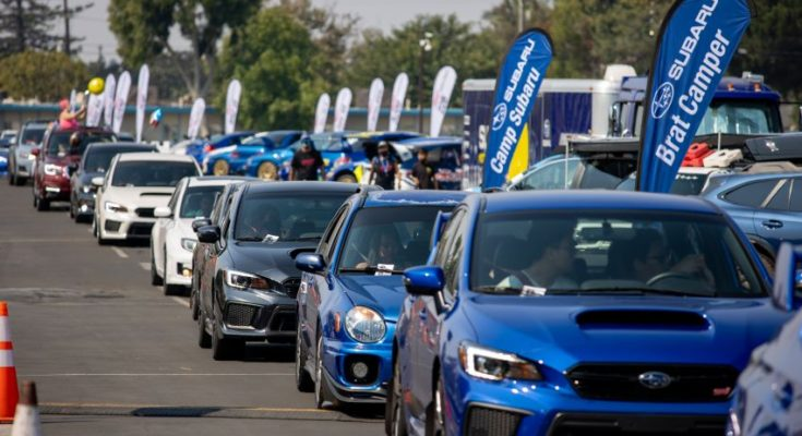 Subaru Broke the Guinness World Record for Largest Parade of Cars 1