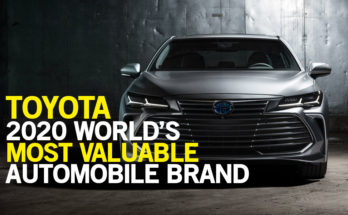 Toyota Again Remained the Most Valuable Automotive Brand in Interbrand's 2020 Best Global Brands List 10