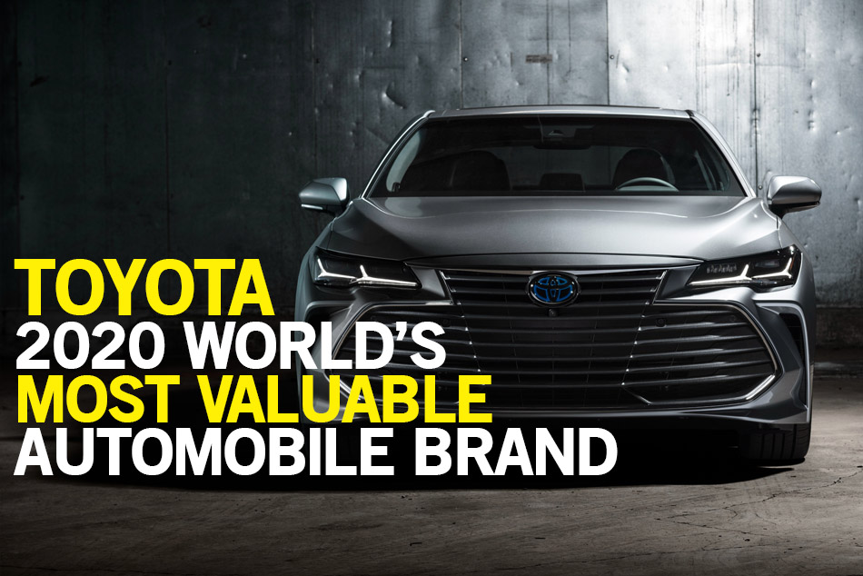 Toyota Again Remained the Most Valuable Automotive Brand in Interbrand's 2020 Best Global Brands List 1
