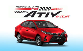 Peeping Into the New Thai-Spec Toyota Yaris Ativ Facelift 2