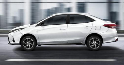 Peeping Into the New Thai-Spec Toyota Yaris Ativ Facelift 7