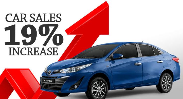 Car Sales Increased by 18% in September 1