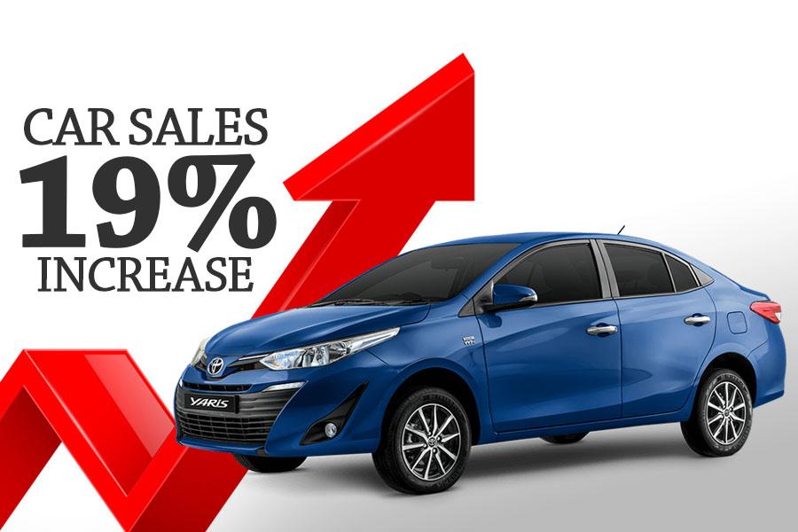 Car Sales Increased by 18% in September 5
