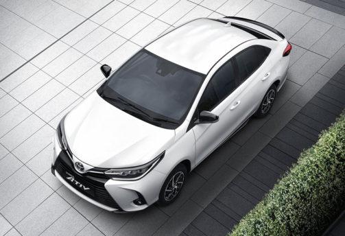 Peeping Into the New Thai-Spec Toyota Yaris Ativ Facelift 8