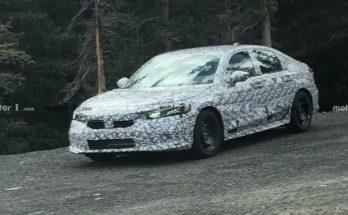 11th Gen Honda Civic Spied Again 12