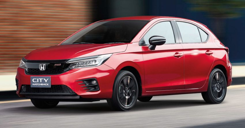 Honda City Hatchback Makes Its World Debut in Thailand 1