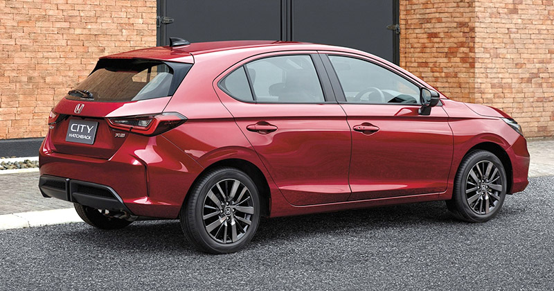 Honda City Hatchback Makes Its World Debut in Thailand 2