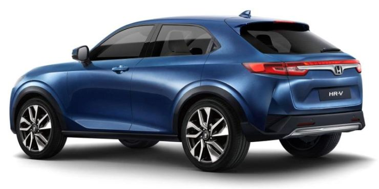 This is how the Next Generation Honda HR-V/ Vezel will look like 2