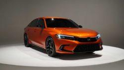 Visual Comparison: Honda Civic 10th Gen vs 11th Gen Prototype 21
