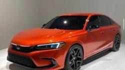 Visual Comparison: Honda Civic 10th Gen vs 11th Gen Prototype 23