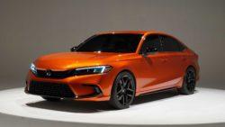 Visual Comparison: Honda Civic 10th Gen vs 11th Gen Prototype 16