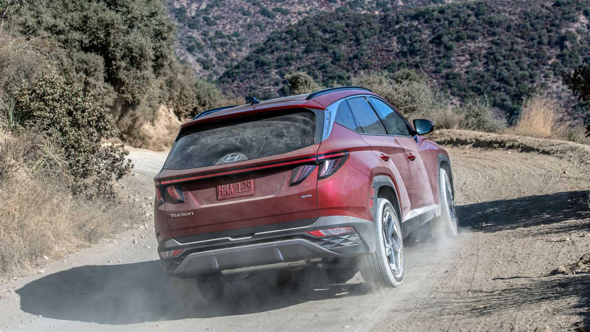 The All New US-Spec Hyundai Tucson Unveiled 5