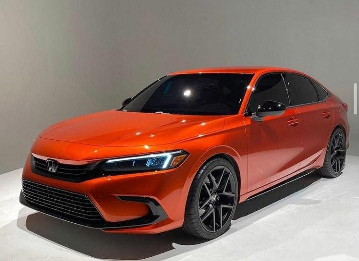 Visual Comparison: Honda Civic 10th Gen vs 11th Gen Prototype 7