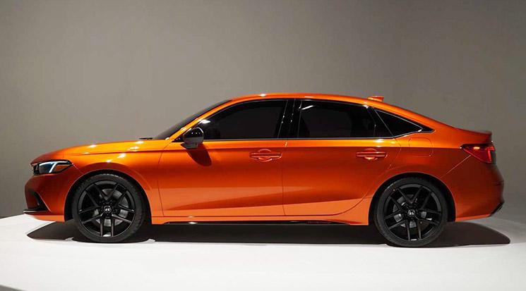 Visual Comparison: Honda Civic 10th Gen vs 11th Gen Prototype 9