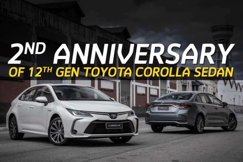 12th gen Toyota Corolla Becomes 2 Years Old 1