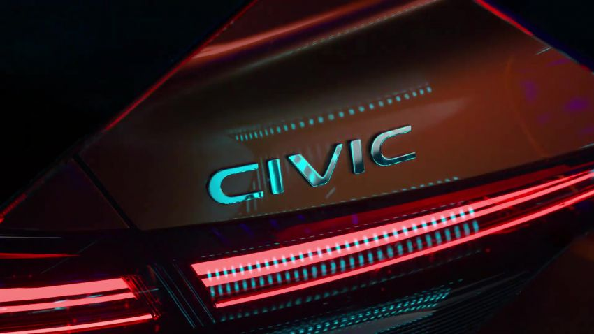 11th gen Honda Civic Prototype Teased for 17th November Debut 9