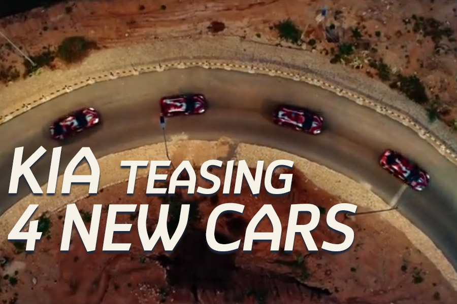 Kia Motors Pakistan Teasing 4 New Cars 1