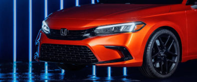 11th Generation Honda Civic Prototype Unveiled 1