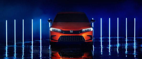 11th Generation Honda Civic Prototype Unveiled 5