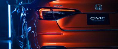 11th Generation Honda Civic Prototype Unveiled 6