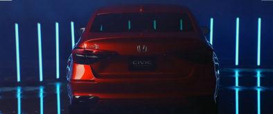 11th Generation Honda Civic Prototype Unveiled 8