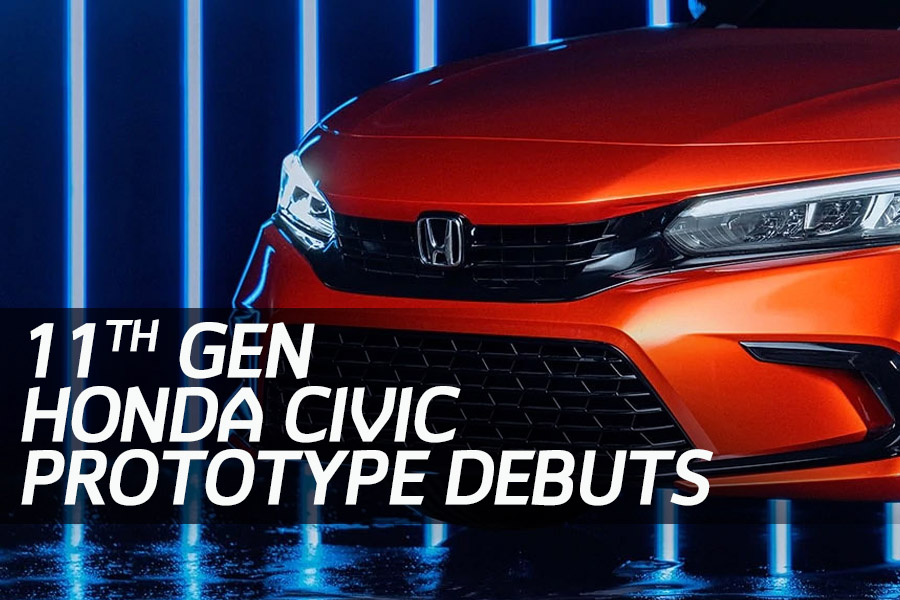 11th Generation Honda Civic Prototype Unveiled 5