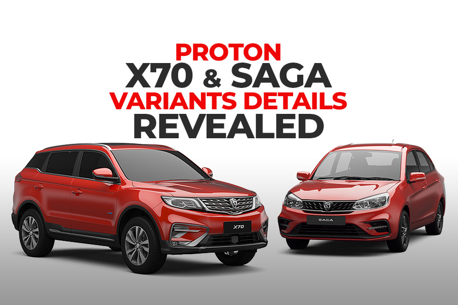 Proton X70 and Saga- Variants Details Revealed 2