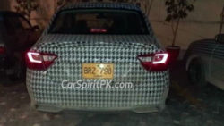 Proton Saga Spotted Again- This Time Undisguised 5