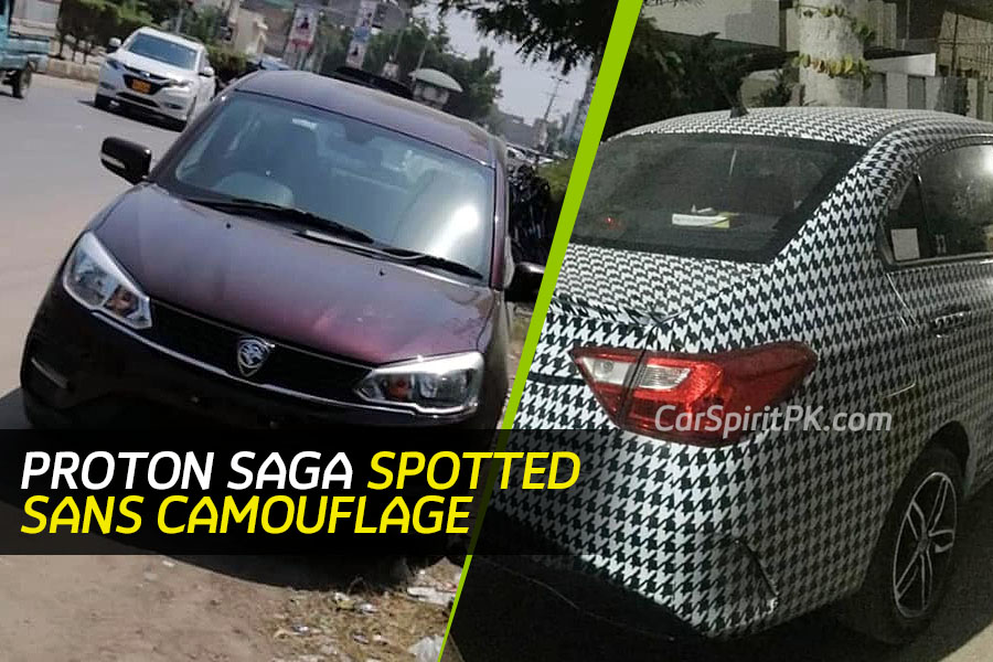 Proton Saga Spotted Again- This Time Undisguised 1