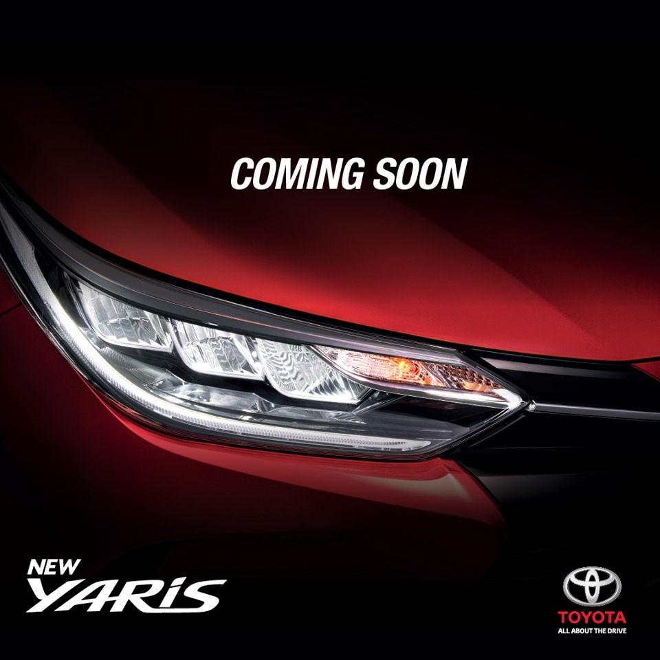 Toyota Yaris Facelift Teased for Malaysian Debut 1