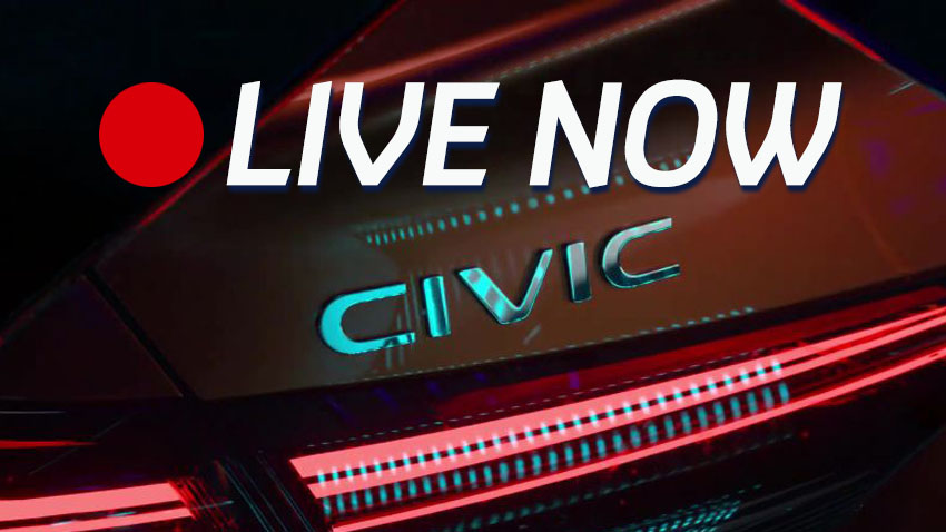 Happening Now: 11th Gen Honda Civic Prototype Unveil LIVE 6