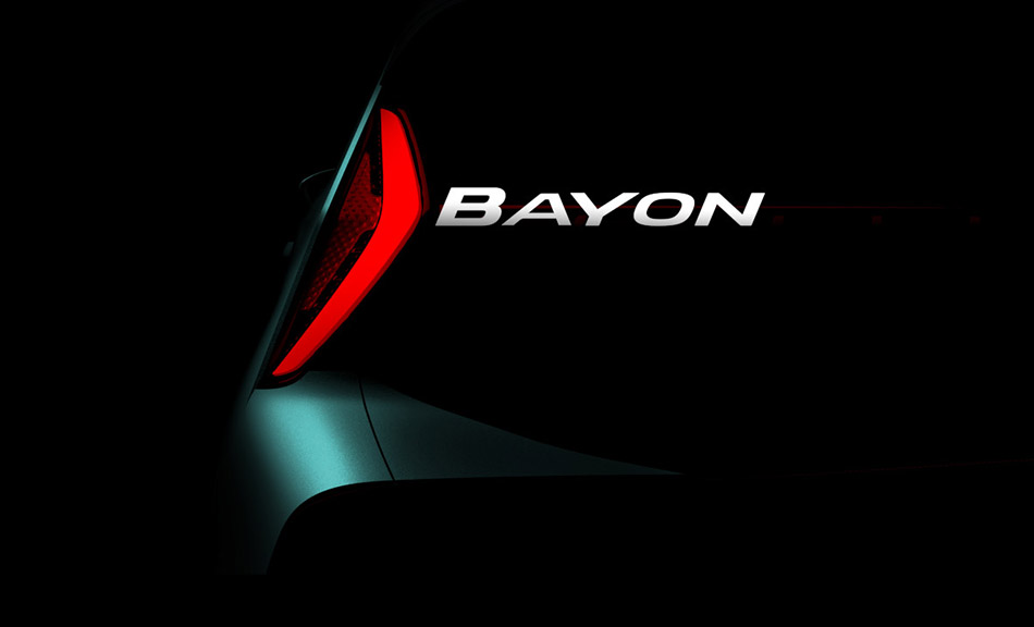 Hyundai Announces Name of its All New SUV: Bayon 1