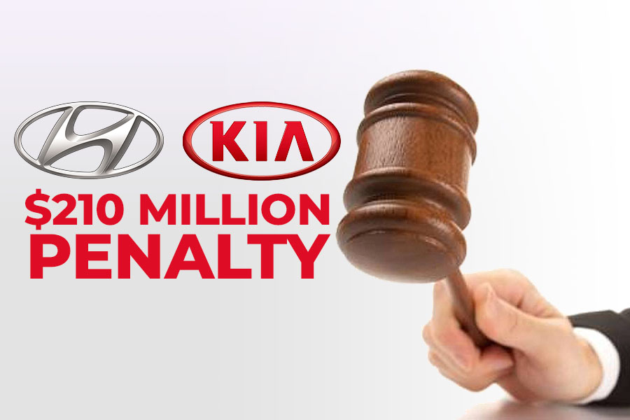 Hyundai & Kia to Pay a Record $210 Million Penalty in Delaying Recalls 1