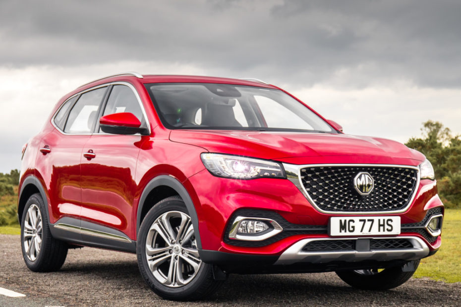 MG Garners 10,000 Orders for HS SUV 1