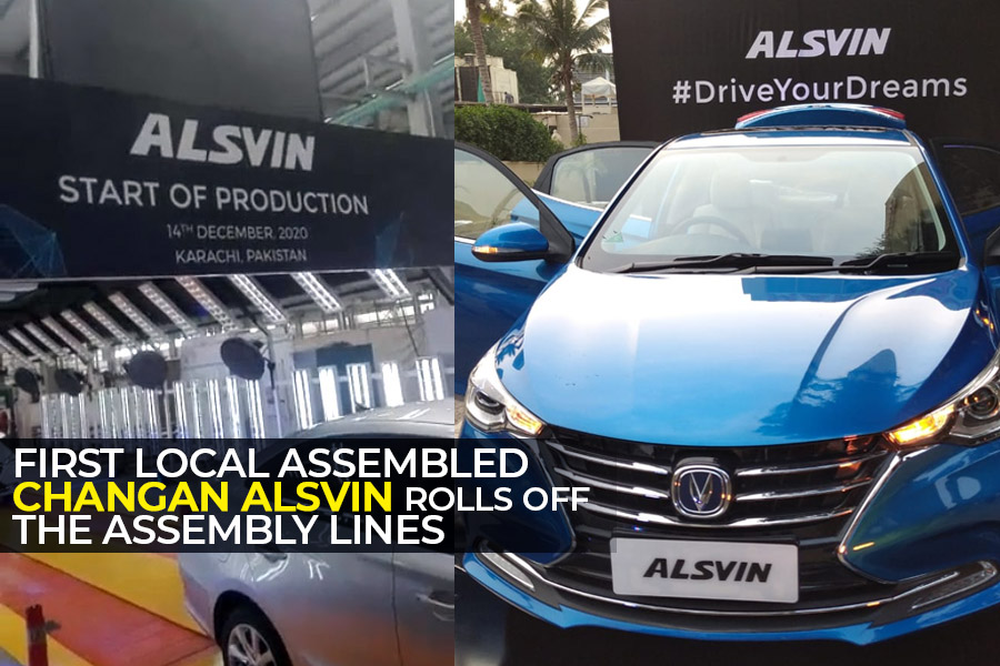 Pakistan Assembled Changan Alsvin Rolls Off the Assembly Lines 6