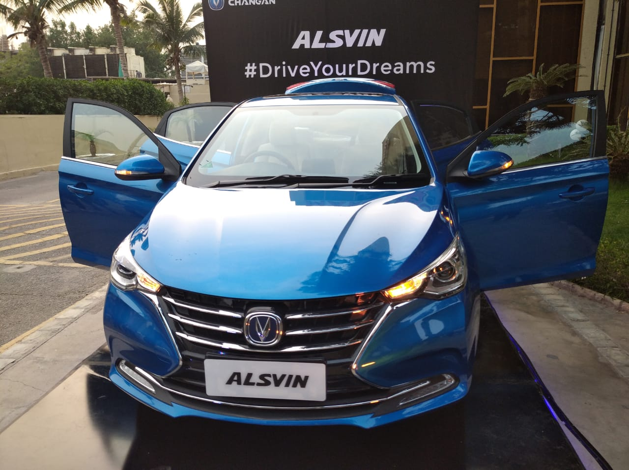 Pakistan Assembled Changan Alsvin Rolls Off the Assembly Lines 2