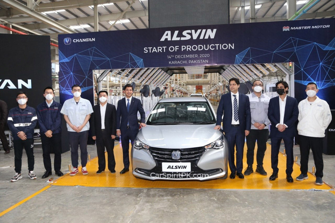 Pakistan Assembled Changan Alsvin Rolls Off the Assembly Lines 1