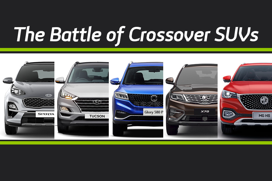 The Battle of Crossover SUVs 8