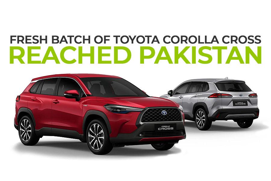 Fresh Batch of Toyota Corolla Cross Reaches Pakistan 1
