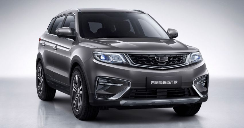 1 Million Global Sales for Geely Boyue 4