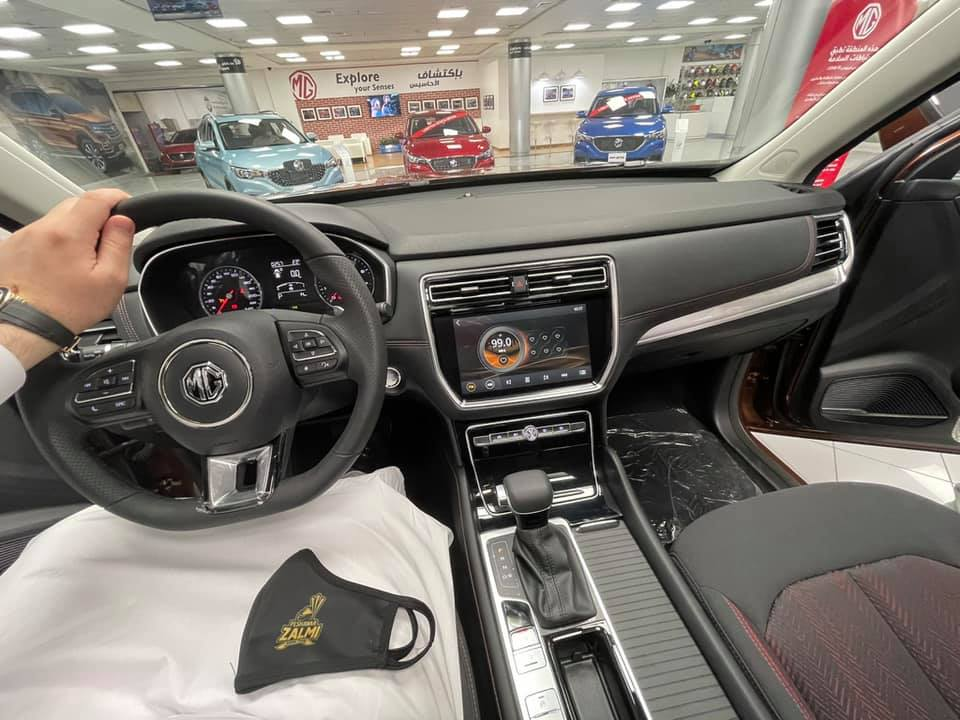 Javed Afridi Teases 2 more MG Cars 4