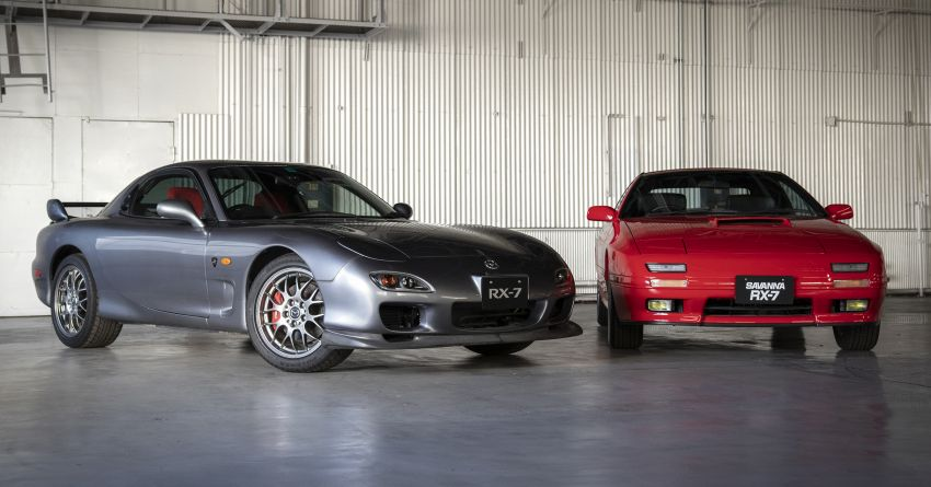 Mazda Launches Heritage Parts Program for RX-7 1