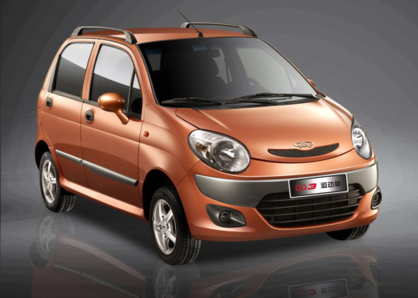 Upcoming United Alpha Hatchback is a First Gen Chery QQ Facelift 2