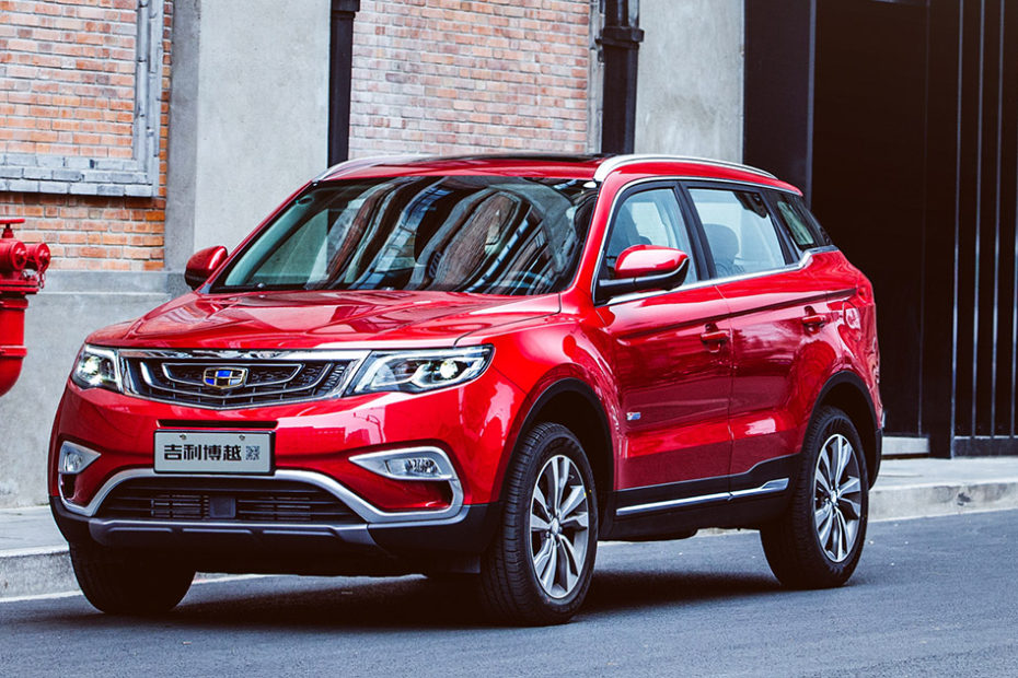 1 Million Global Sales for Geely Boyue 2