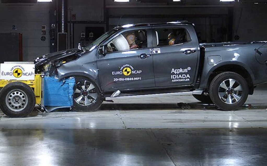 New Isuzu D-MAX Earns Full 5 Stars in Euro NCAP Crash Tests 1