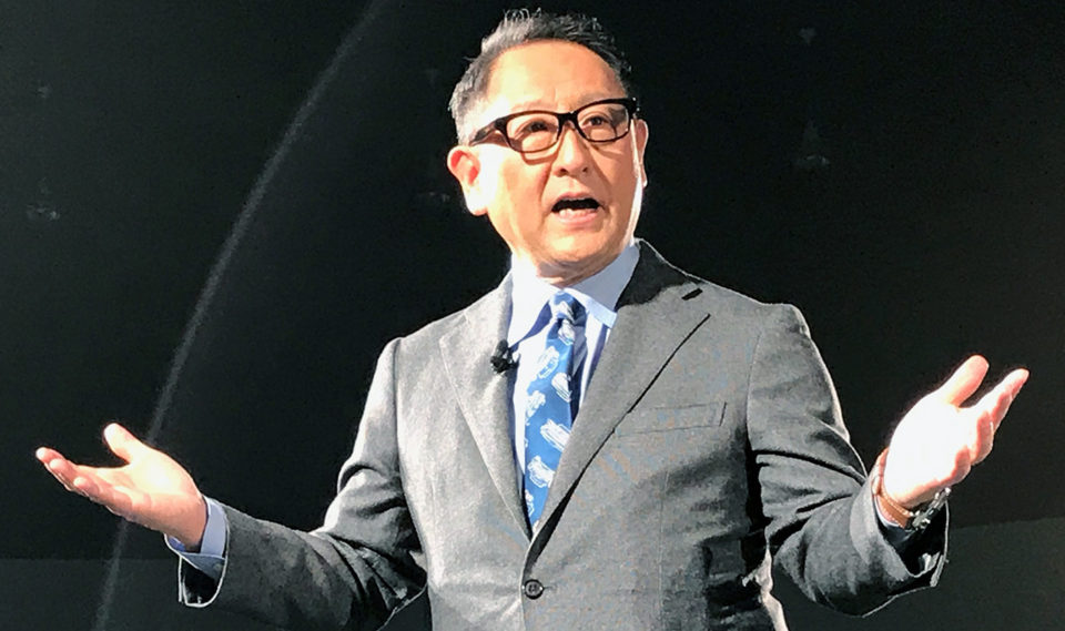 Toyota Chief Not Happy with EV Revolution 2