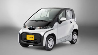 Toyota Launches C+pod Electric Car 2