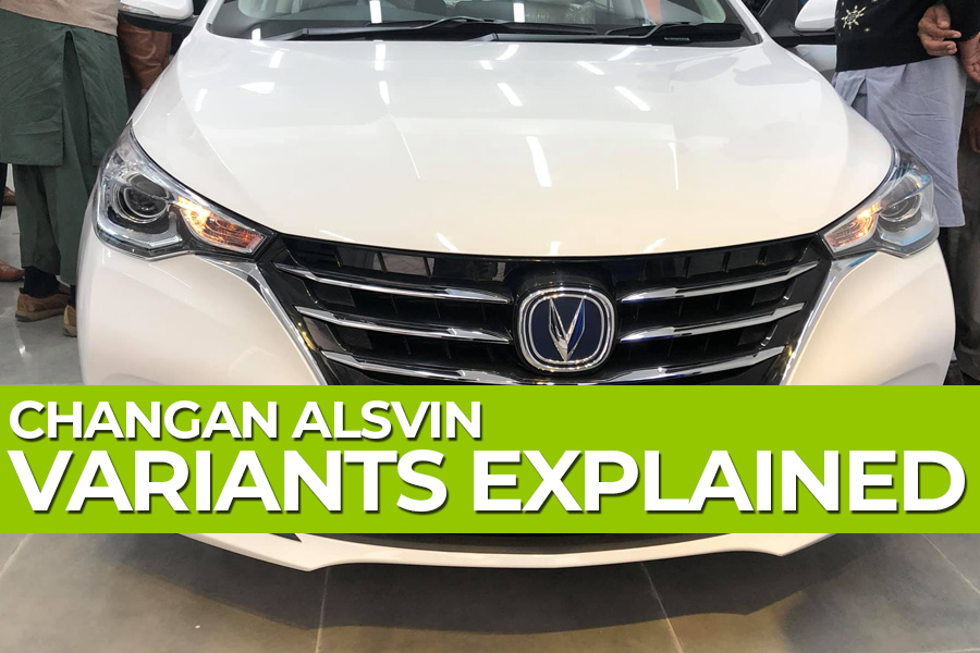 Changan Alsvin- Variants Explained 3