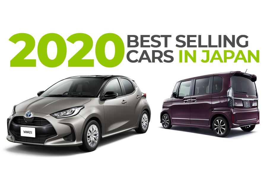 Bestselling Cars of Japan in 2020 2