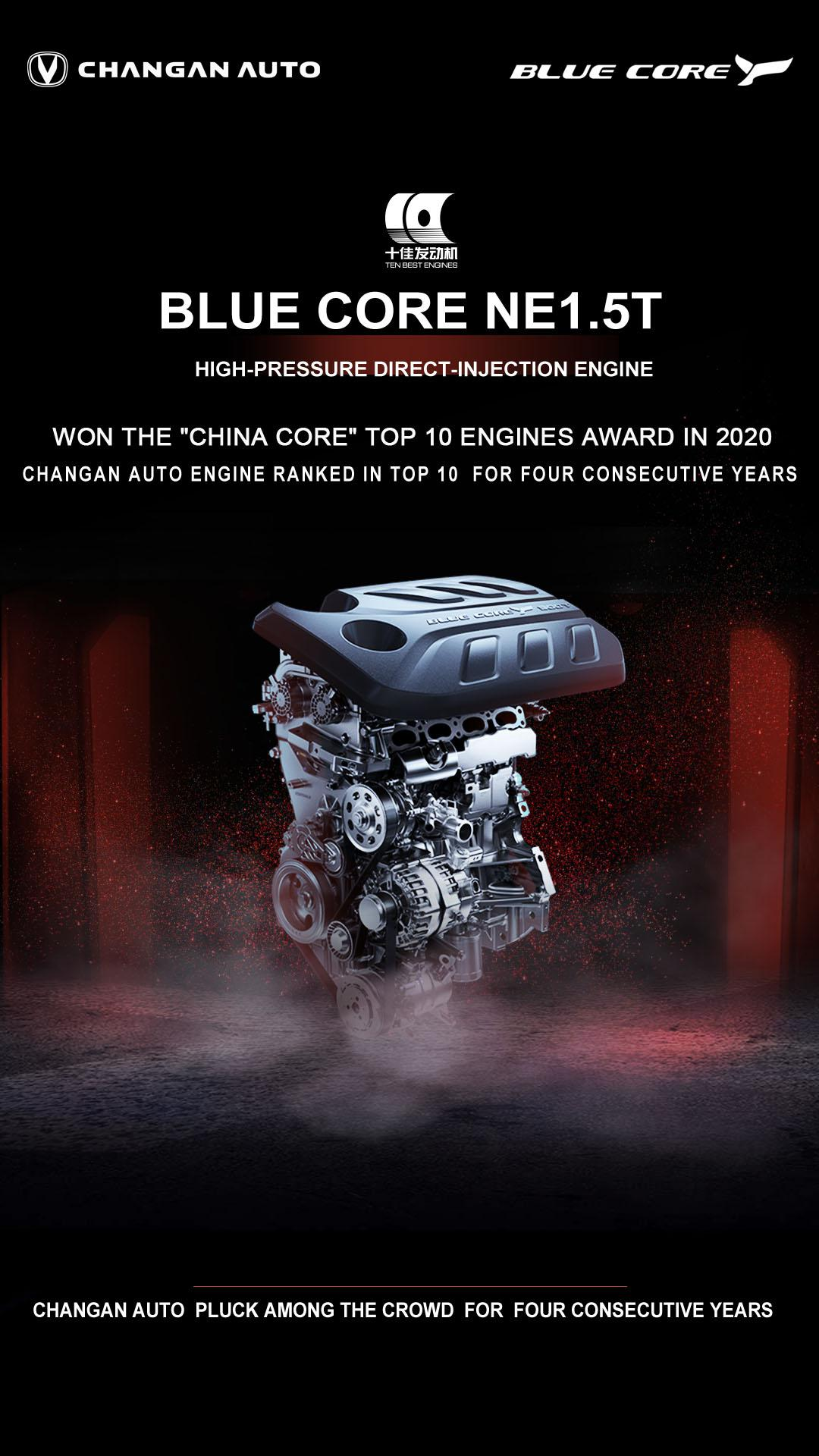 Changan Blue Core Engine Sets Guinness World Record 2